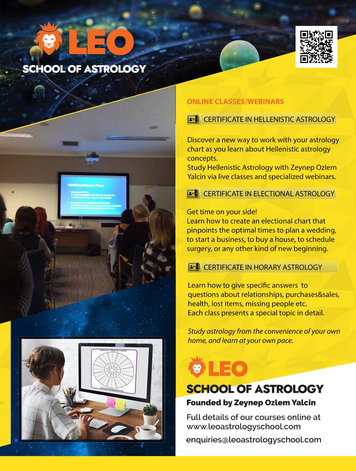 LEO Astrologie school